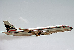 Convair 880 - Delta Air Lines operated 17 Convair 880s between early 1960 and early 1974.