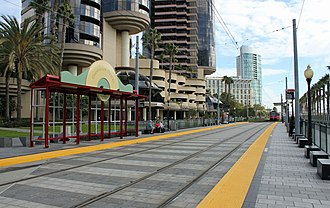 Convention Center station (San Diego Trolley) - Convention Center Station, 2011