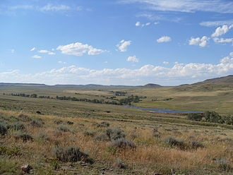 Converse County, Wyoming - Landscape in Converse County