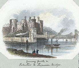 Conway Tubular Bridge & Castle