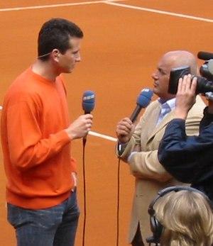 Richard Krajicek - Image: Copa Davis '2004 Espanya Holanda (R.Krajicek)