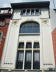 Art nouveau en belgique wikip dia for Maison deco belgique