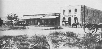 Copperas Cove, Texas - Avenue D East of Main Street, circa 1905
