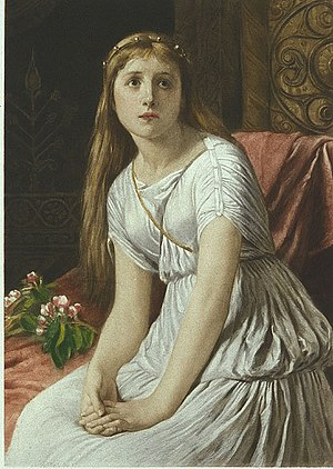 Cordelia (King Lear) - Cordelia, by William Frederick Yeames