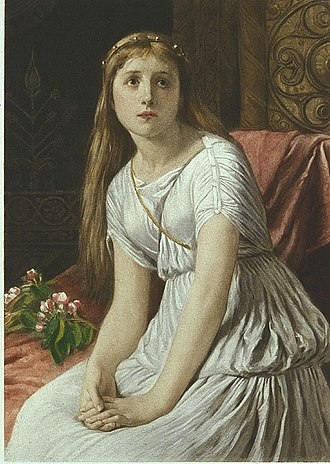 Cordelia of Britain - Cordelia, by William Frederick Yeames