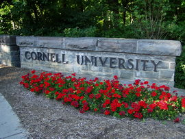 Cornell University West Campus Sign-summer.JPG