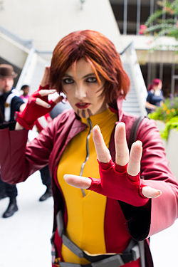Cosplay de Rachel Summers