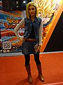 Cosplayer of Android 18, Dragon Ball Z at Comic Exhibition 20170813a.jpg