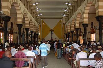 Cotonou Cathedral - Interior