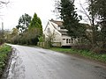 Cottage west of Willow Farm, Rushall - geograph.org.uk - 1779717.jpg