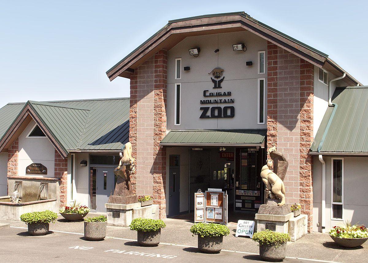 Cougar Mountain Zoo - Wikipedia