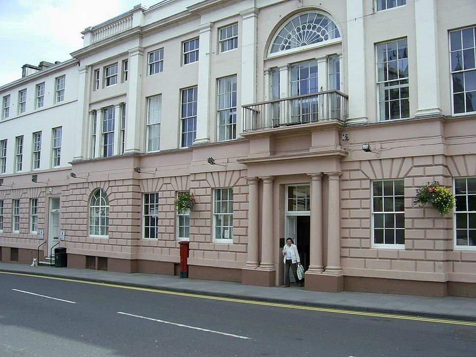 County buildings, Cupar