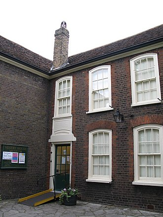 Vestry House Museum - The museum courtyard