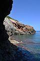 Cova Tallada, vista de l'accés nord.JPG