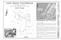 Cover Sheet and Site Plan - Cape Arago Light Station Footbridge, Gregory Point, Charleston, Coos County, OR HAER OR-156 (sheet 1 of 3).png
