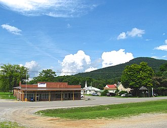 Crab Orchard, Tennessee - Main Street in Crab Orchard