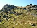 Crags guarding Beinn Bheula's summit - geograph.org.uk - 981116.jpg