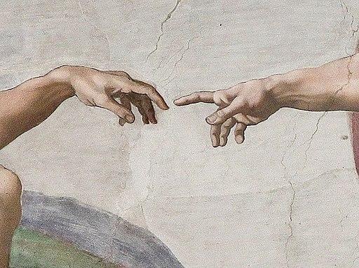 Creation of Adam (Michelangelo) Detail