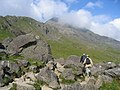 Crib Goch, from the PYG track near Pen y Pass - geograph.org.uk - 46823.jpg