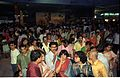 Crowd - Dinosaurs Alive Exhibition - Science City - Calcutta 1995-June-July 522.JPG