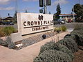 Crowne Plaza Cabnña Hotel Palo Alto sign.JPG