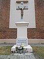 Crucifix, Szent Erzsébet square, 2018 Pesterzsébet.jpg