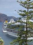 Cruise ships, Funchal - Madeira, October 2012.jpg