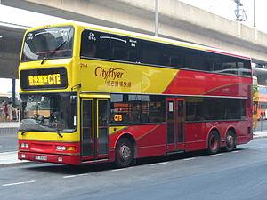 Dennis Trident 3 - Citybus's 12m Trident 3 (2144) for Cityflyer routes.