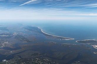 Cumberland Island - Aerial view of Cumberland Island