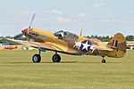 Curtiss P-40F Kittyhawk 'XI-7' (G-CGZP) (44708180645).jpg