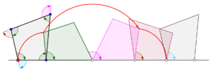 Cyclogon - Cyclogon generated by a convex quadrilateral