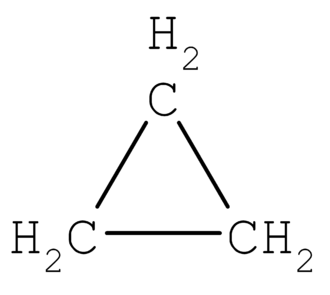 Alicyclic compound - Cyclopropane is the smallest alicyclic compound.