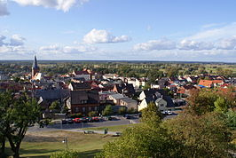 Czarnkow from the hill 2009-10.jpg