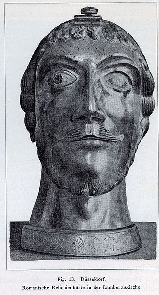 File:Düsseldorf, St. Lambertuskirche, romanische Reliquienbüste.jpg