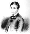 D. António José Luis, futuro 1.º Marquês de Rio Maior (Jul 1851) - Teresa de Saldanha.png