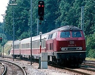 Allgäu Railway (Bavaria) railway line