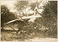 DFW C.V wreckage in brush (8611431770).jpg