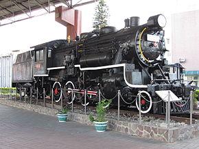 台铁DT560型蒸汽机车