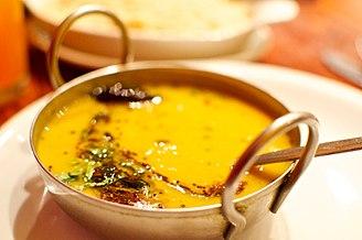 Lentil - Dal tadka (lentil soup)