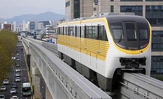 Daegu Metro Line 3 - Image: Daegu Metro Line 3