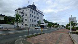 Dagyojitown Kurayoshicity Tottoripref Tottoriprefectutal road 205 Kijiyama Kurayoshi line.JPG
