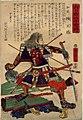 Dai Nihon Rokujūyoshō, Izumi Kusunoki Masakatsu by Yoshitora.jpg