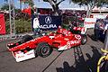 Dallara-Honda DW12 Ganassi-Target Racing Scott Dixon TowedToPractice 02 SPGP 24March2012 (14513025180).jpg