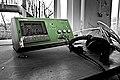 Damaged Coomber 3904 PA cassette recorder (4502808135).jpg