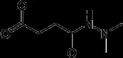 Strukturformel von Daminozid