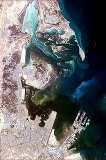 Ras Tanura city in Eastern Province, Saudi Arabia