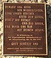 Dammbruchstellen Gedenkstätten Pfingsthochwasser1999 Inschrifttafel Neustadt Donau LkrKelheim Niederbayern.JPG