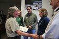 Dan Ashe awards Judy Romero (7124420981).jpg