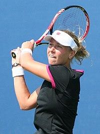 Darya Kustova at the 2010 US Open 01 (cropped).jpg