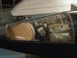 Dassault Mirage III - Cutaway view of the Cyrano radar system